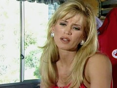 Amber Lynn with hot young blonde