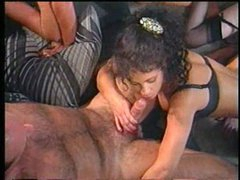 Classic group sex pleasure