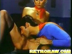 Superman has supersex Threesome