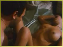 One of the hottest hardcore porn movie scenes shot in remote 1996